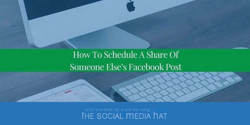 It's great to share content from other businesses and Facebook Pages, but how do you schedule and space those shares out?