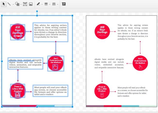 Comparing a slide presentation using Google Slides