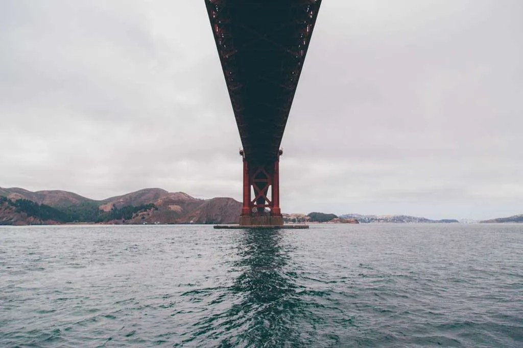 Great photograph of the Golden Gate Bridge in San Francisco.