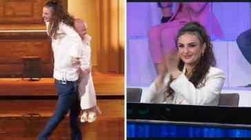 Arisa commenta il balletto con Rudy Zerbi alla finale di Amici. Lui le risponde