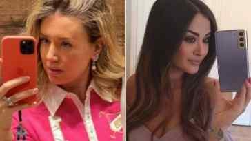 "Nozze Giorgia Palmas, le foto sui social con la testimone ed ex velina Elena Barolo: ""Mi sento fortunata"""