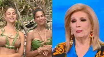 Iva Zanicchi senza freni all'Isola dei Famosi, il commento sui fondoschiena delle naufraghe: imbarazzo in studio