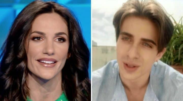 Elena D'Amario a Verissimo, la ballerina di Amici emozionata per il messaggio di Alessandro Cavallo