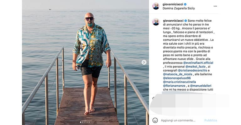 Post di Giovanni Ciacci su Instagram