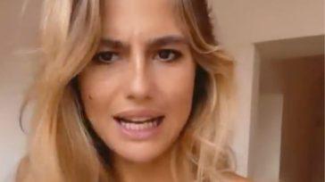 """Cristina Marino, l'attrice e moglie di Luca Argentero sbotta per le domande su Nina: """"Ma che vi frega?"""""""