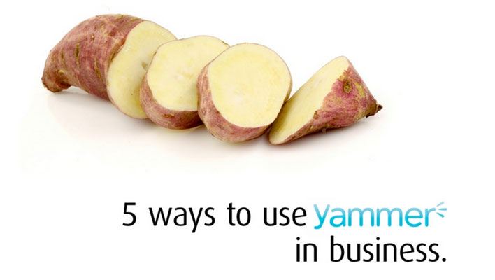 5 ways to use Yammer in Business
