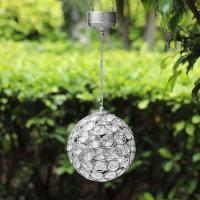 Aria Solar Hanging Crystal Ball Light