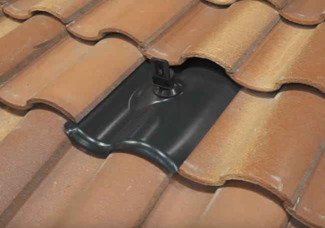 install solar panels on a tile roof