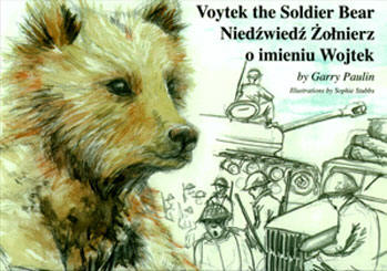 Voytek the Soldier Bear book cover