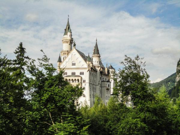 viajar solo castillo del rey loco travel solo