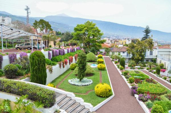 Gardens in the Orotava, Tenerife