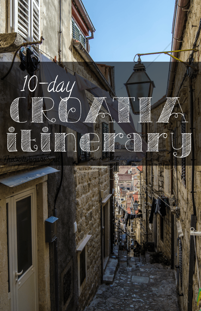 A ten day croatia itinerary - The Solivagant Soul.