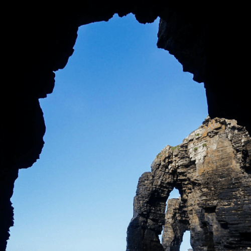 Praia das Catedrais, a beach made out of cathedrals in Galicia, Spain   The Solivagant Soul