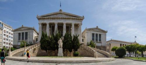 Wandering through the streets of Athens - The Solivagant Soul