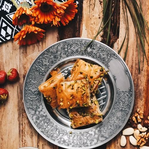 Veganes Baklava Rezept Food Blog Lifestyle Blog Sophisticated Sisters Wien Vienna