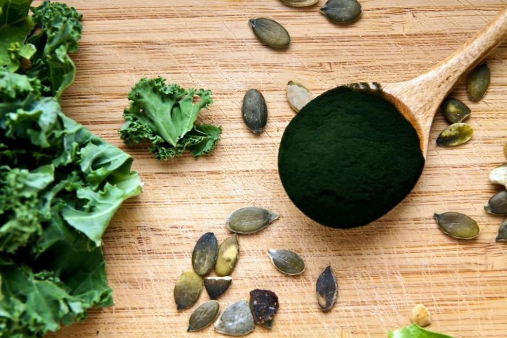 5 pflanzliche Proteinquellen: Spirulina-Alge
