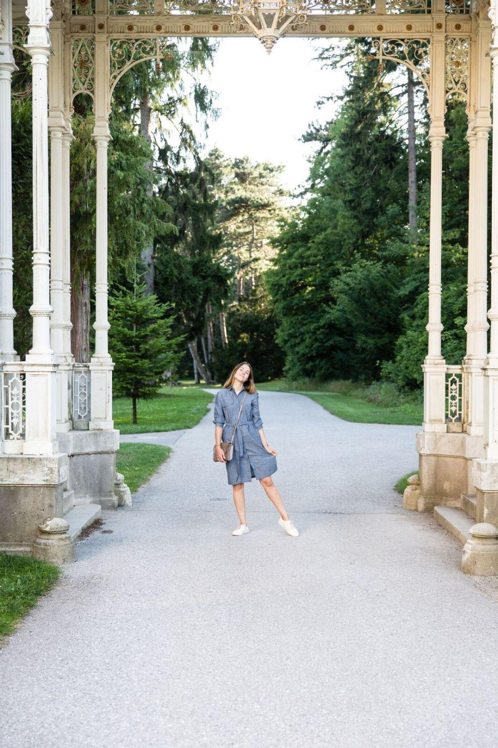 Hemdblusenkleid von Mila.Vert und Gedanken zum Vorankommen im Leben