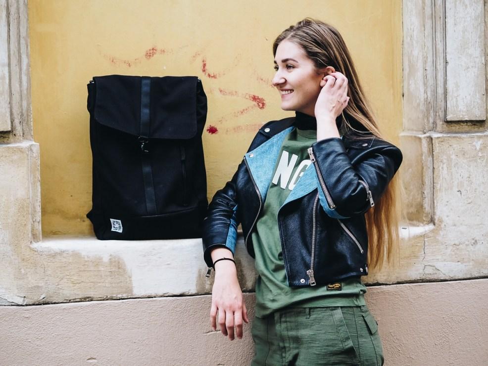 JOST Rucksack, Beitrag: Faire Mode für das kleine Budget Sophisticated Sisters Fair Fashion Lifestyle Blog