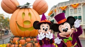 Halloween at the Disneyland Resort