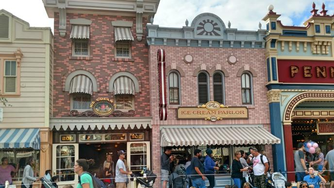 Disneyland Resort, Disneyland, Main Street, USA, Gibson Girl Ice Cream Parlor