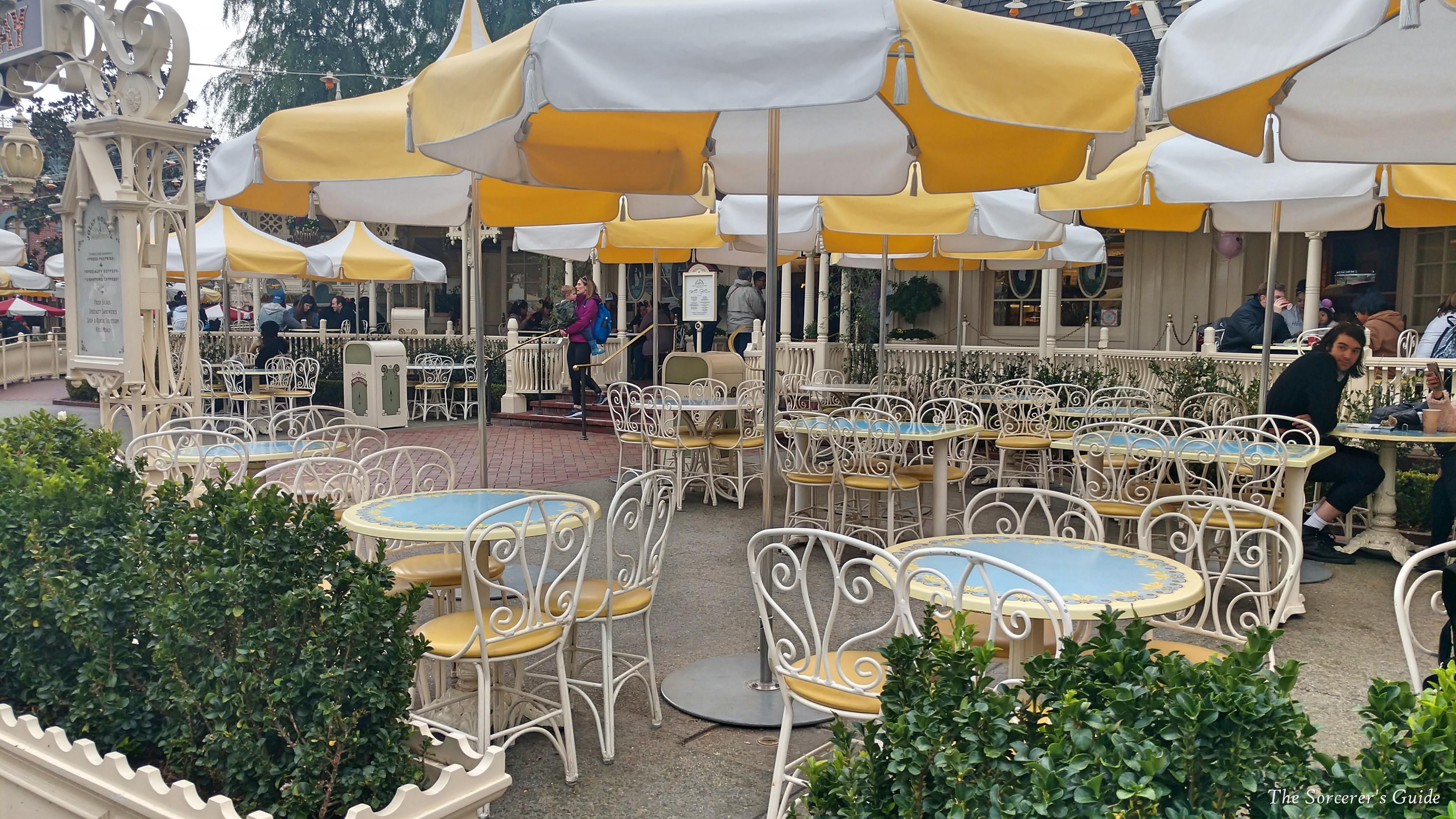 seating at Jolly Holiday Bakery