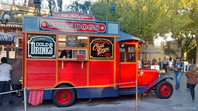Disneyland Resort, Disneyland, Main Street, USA, Little Red Wagon Corn Dogs