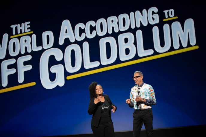 The Wolrd According to Jeff Goldblum was announced for Disney+ at the 2019 D23 Expo.