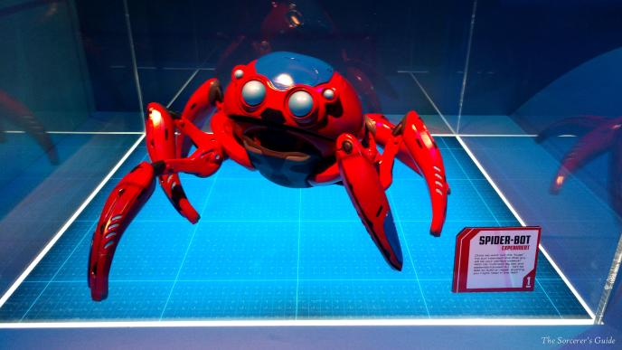 One of the spider robots that the Worldwide Engineering Brigade will be working on.