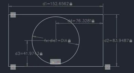 Parametric Drawing, Constraints and Formulas in AutoCAD