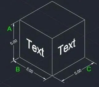 how to change dimension text size in autocad 2016