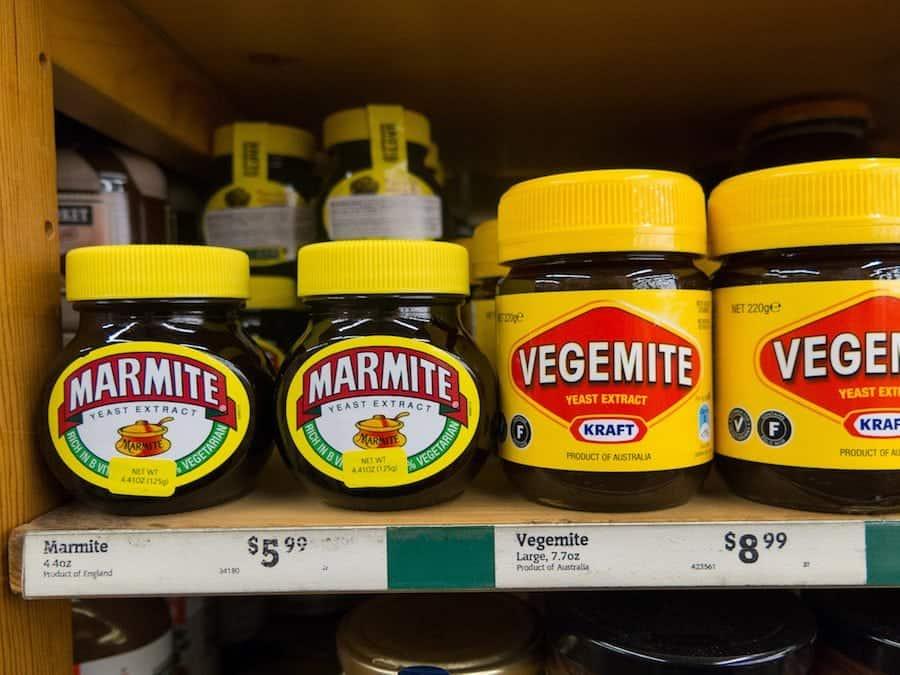 marmite vegemite