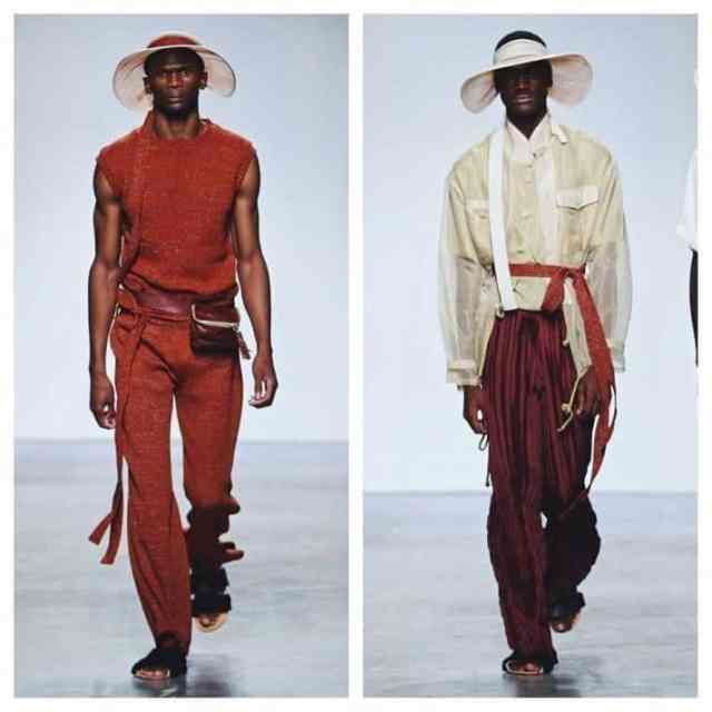 South African designer Lukhanyo Mdingi