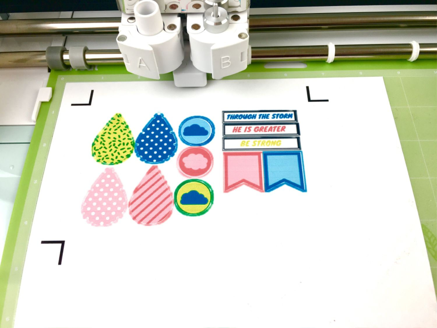 Using The Print Then Cut Feature With Cricut Explore Air 2