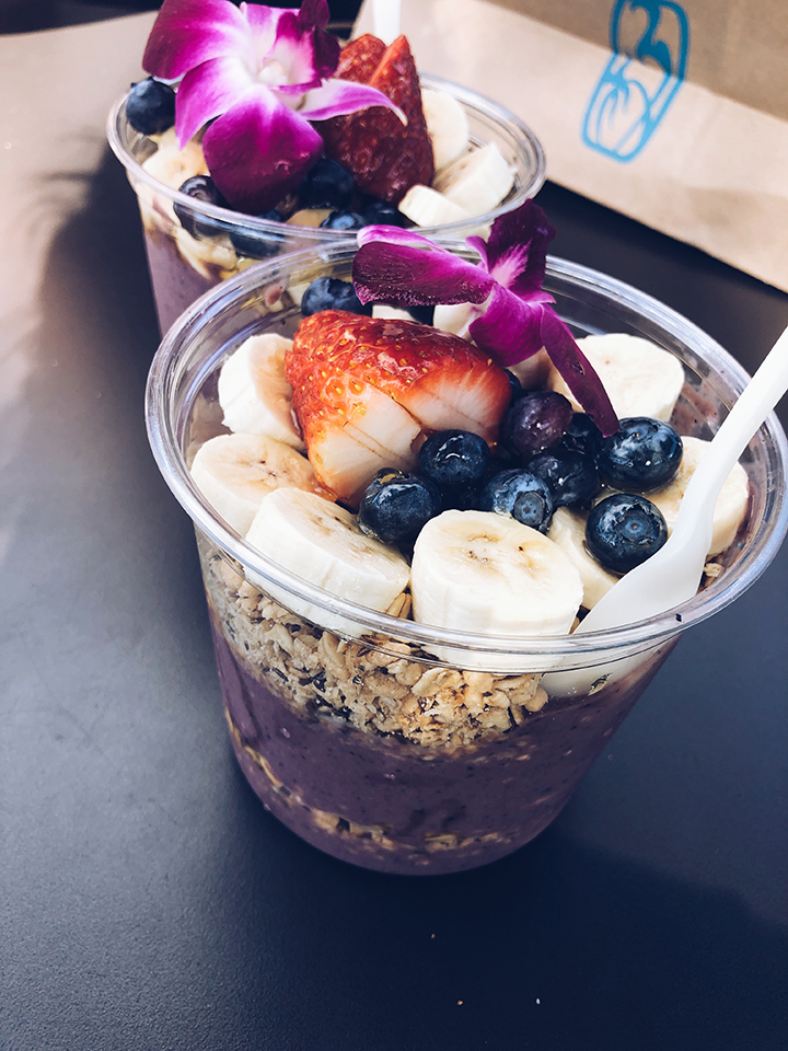 Food from a Honolulu restaurant.
