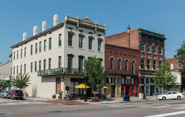 Buildings in downtown Augusta, Georgia.