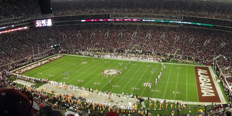 Alabama's Bryant-Denny Stadium
