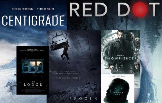 A graphic featuring various movie posters for a story about films.