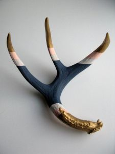 antler wall sculpture