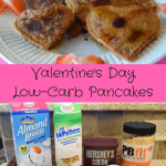 Valentine's Day Low Carb Pancakes