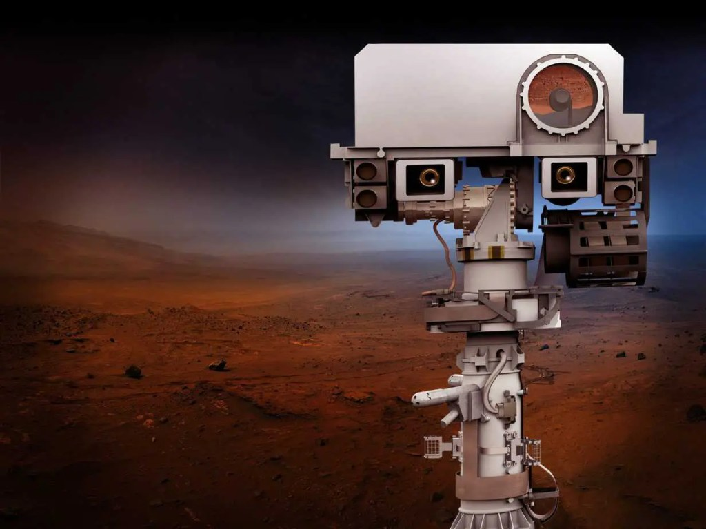 Mars rover Perseverance features