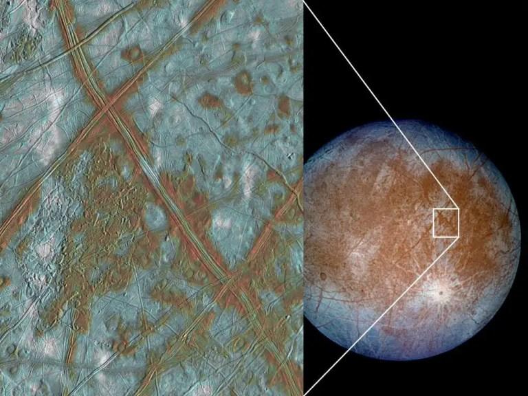 Europa Moon composition