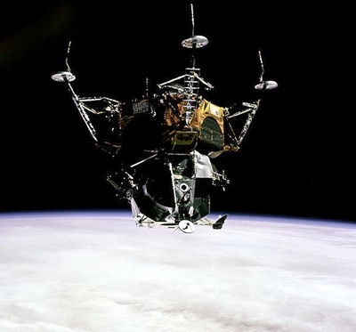 Image result for apollo 9 spider images