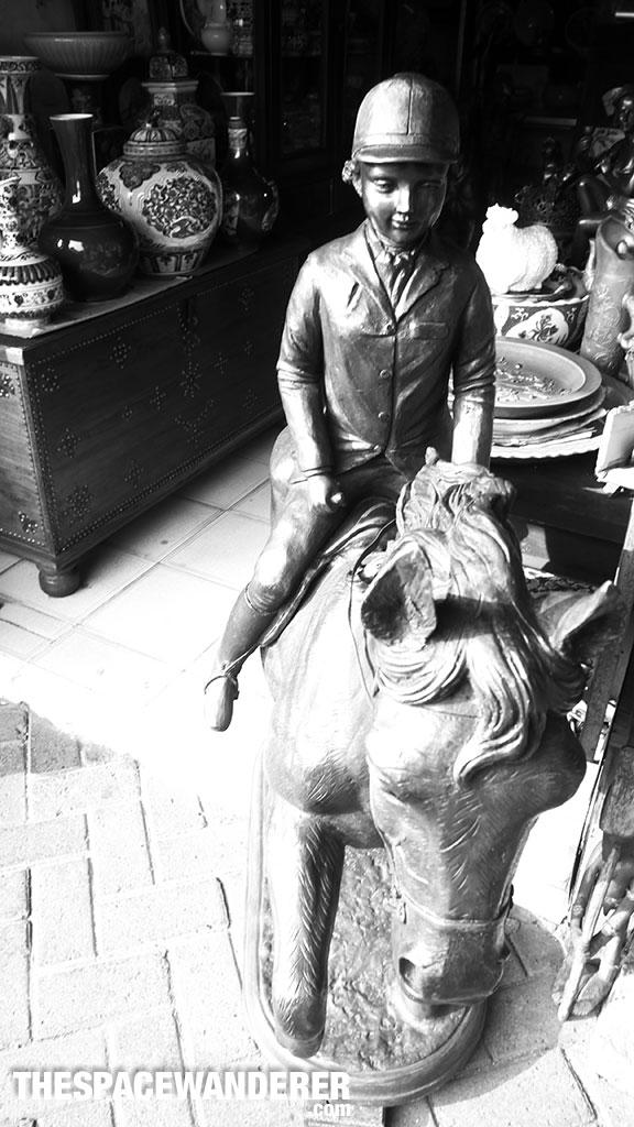 Boy and horse Jalan Surabaya 1 Agustus 2014