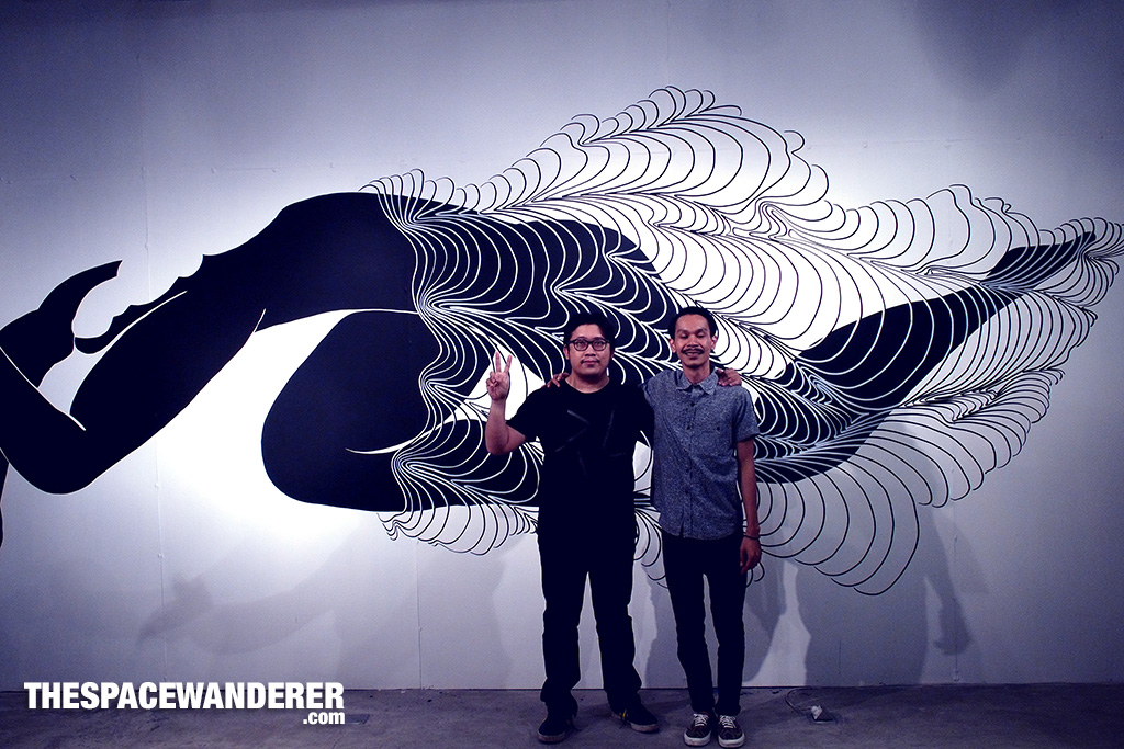 Borderless an exhibition by Zaky Arifin and Aditya Wijanarko at Glitch Network
