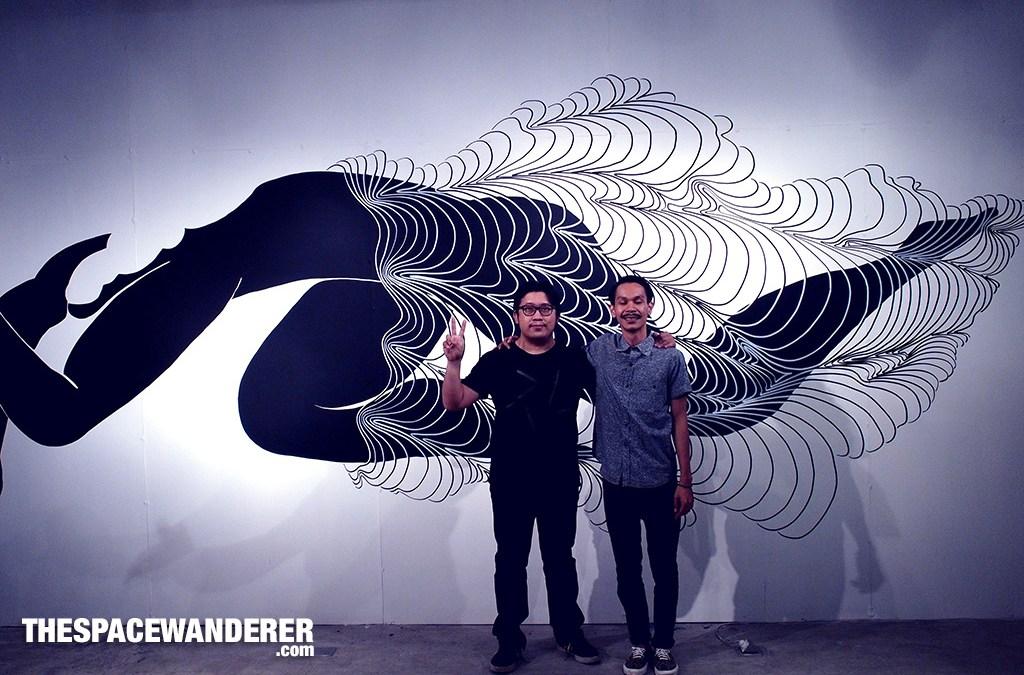 Borderless an exhibition by Zaky Arifin and Aditya Wijanarko at Glitch Network