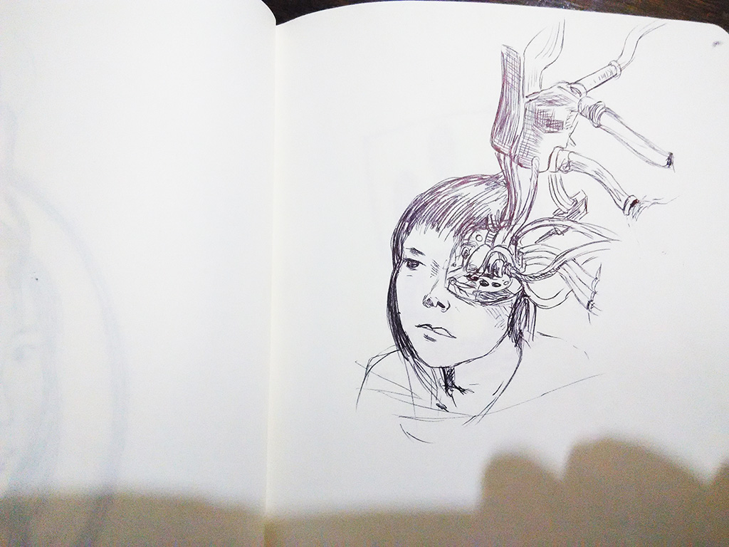 another pen sketches session