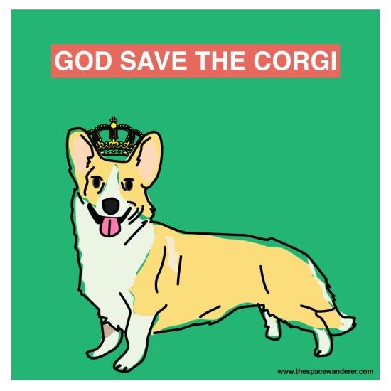 God save the corgi