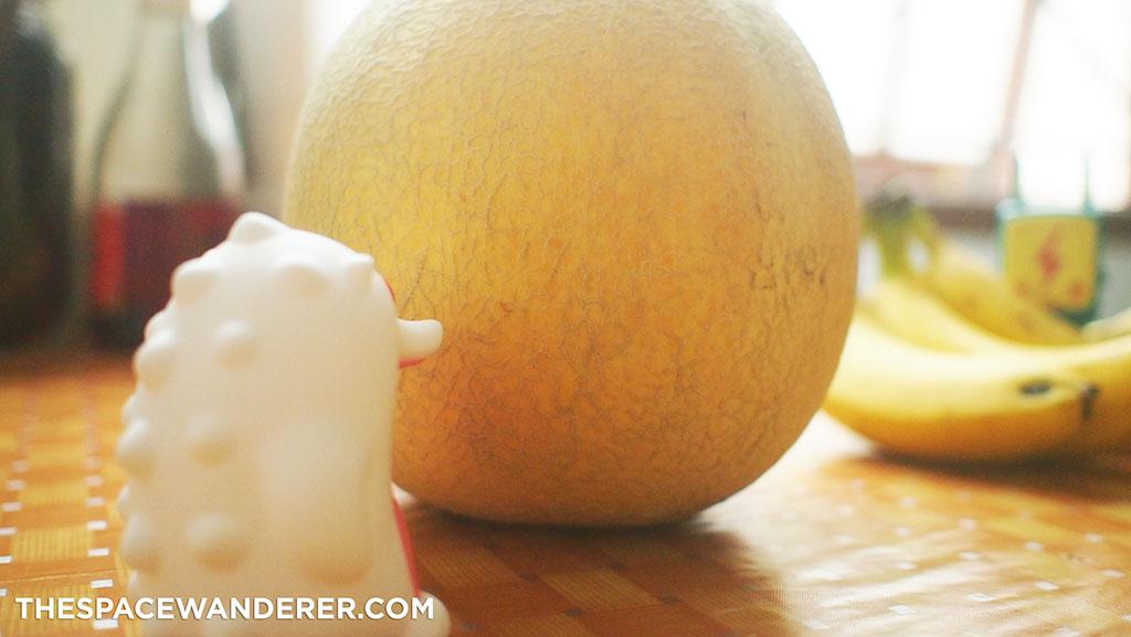Melon yang sudah manis lebih enak tentu saja.