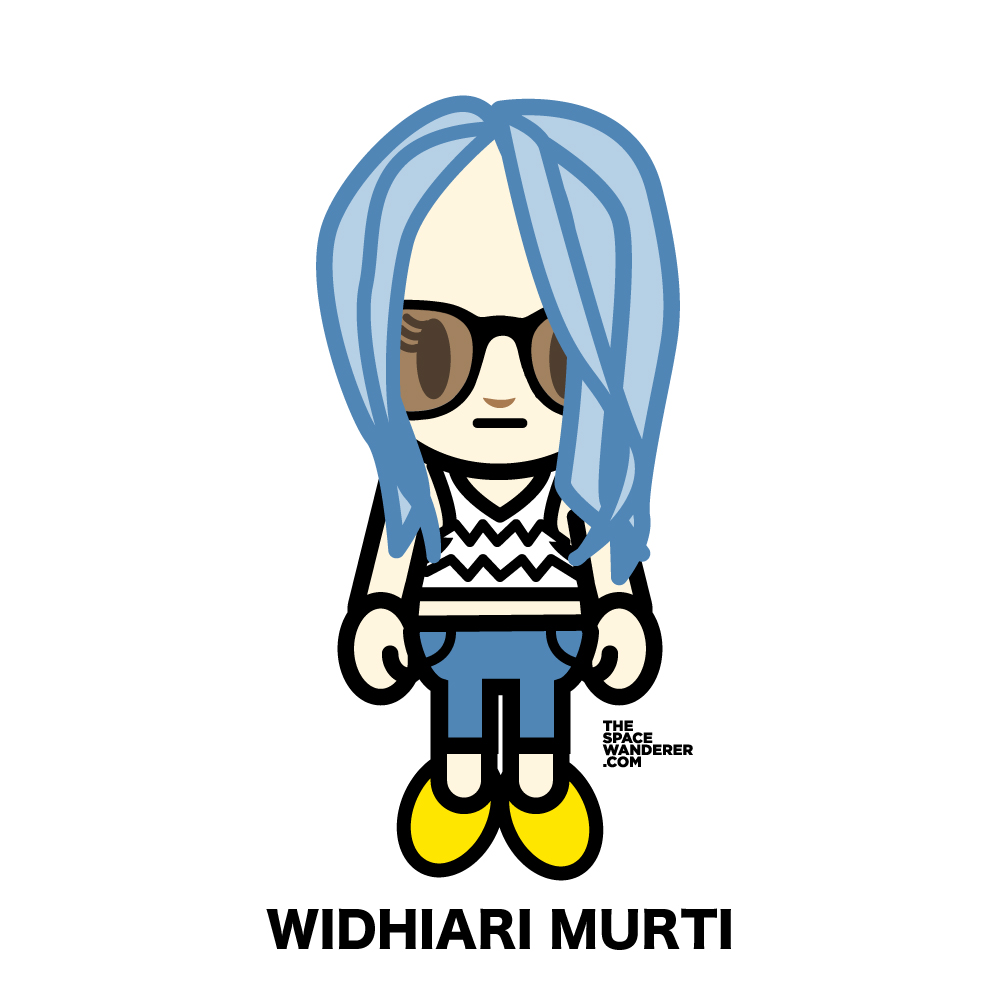 Widhiari Murti An avid traveller, been wandering for many years to many places. One of the brightest girl i've met.