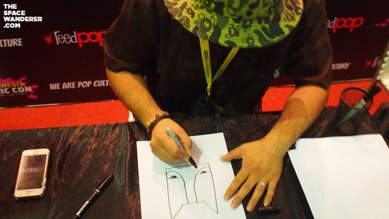 Dokutoku drawing Budog